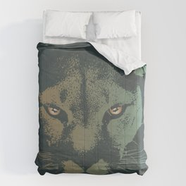 Mountain Lion Night Comforters