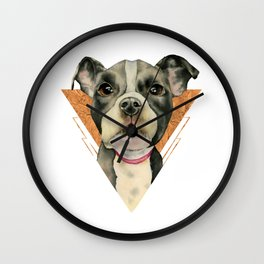 Puppy Eyes 5 Wall Clock
