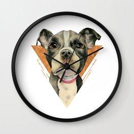 Puppy Eyes 5 Wall Clock