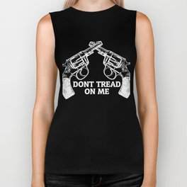 Don't Tread On Me Pistols Biker Tank