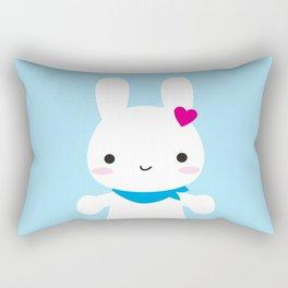 Super Cute Kawaii Bunny Rectangular Pillow