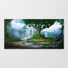 The Elder Tree Canvas Print