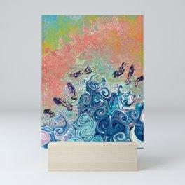 Splash! Mini Art Print