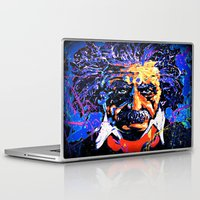 einstein Laptop & iPad Skins featuring Einstein by FEENNX