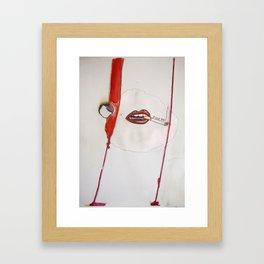 F YOU Framed Art Print