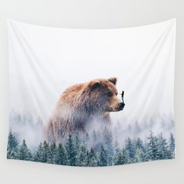 Beyond the Haze Wall Tapestry