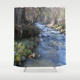 East Fork Hayfork Creek.... Shower Curtain