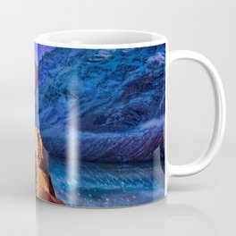 Mountain Tops Misty And Blue, A Light In Search Of Something New Coffee Mug
