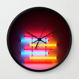 Neon Room Part 1 Wall Clock