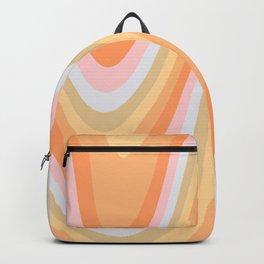 Wavy 70s Art Backpack