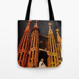 Sagrada Familia - unfinished Tote Bag