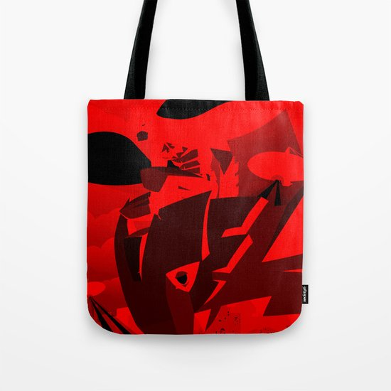 Knight Over Gotham Tote Bag
