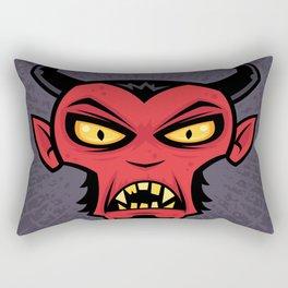 Mad Devil Rectangular Pillow