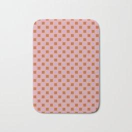 Checker board Bath Mat