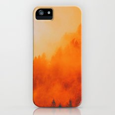 ON FIRE iPhone SE Slim Case