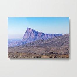 Mountain near Jebel Shams Metal Print