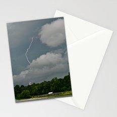 Lightning Strikes Stationery Cards