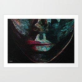 Your Lips Art Print