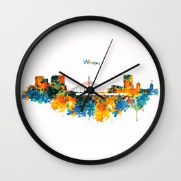 Winnipeg Skyline Wall Clock