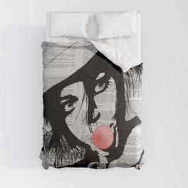 Bubble gum colorized Comforters