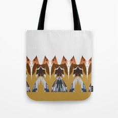 In the Mountains Tote Bag