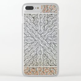 All Boxed In Clear iPhone Case