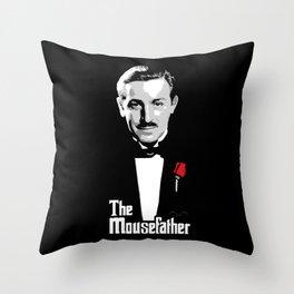 Walt E.Disney, The Mousefather Throw Pillow