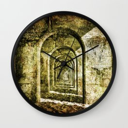 Ancient Arches Wall Clock