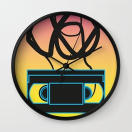 80's problems: VHS Wall Clock