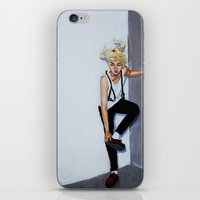 kpop iPhone & iPod Skins featuring The Red Shoes by Julia C. Elliott