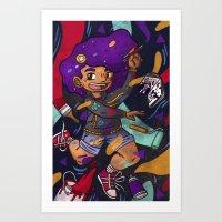 SAM! Art Print