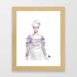 Sheer Imagination Framed Art Print
