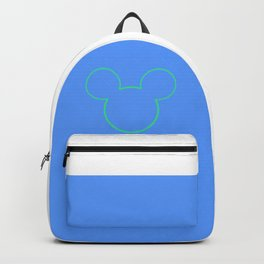 Blue Mouse Backpack