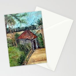 Shed on the Marsh Stationery Cards