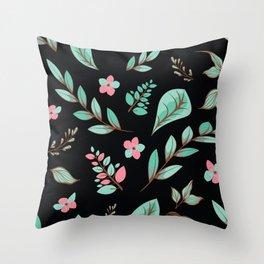 Flower Design Series 19 Throw Pillow