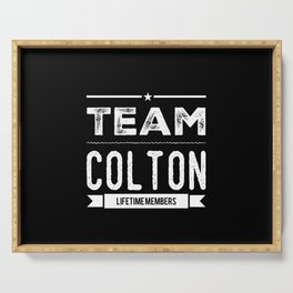 Personalized Name Colton - Birthday Gift Serving Tray