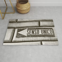 Senso Unico - One Way Rug