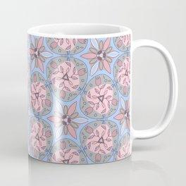 Pattern blue gray color Coffee Mug