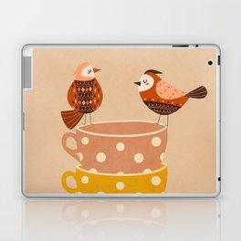 Birds and Teacups Laptop & iPad Skin