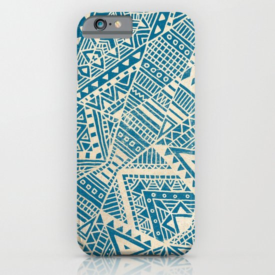 Tribal (blue)  iPhone & iPod Case