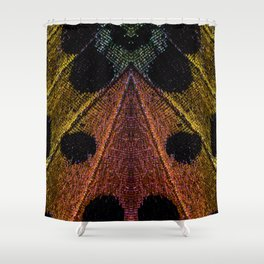 Butterflies Love Geometry Shower Curtain