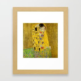 The Kiss (High Resolution) Framed Art Print