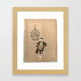 they'll be happy Framed Art Print