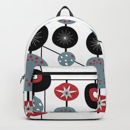 Mid-Century Modern Art Atomic Cocktail 2.0 Backpack