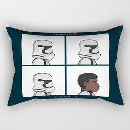 Clone Days Rectangular Pillow