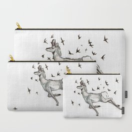 Swift (swifts and pronghorns, speed and survival in nature) Carry-All Pouch