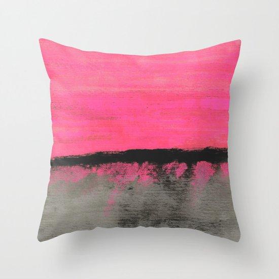Sunset Horizon Throw Pillow