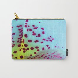 Flower Tiger Orchid's Detail Carry-All Pouch