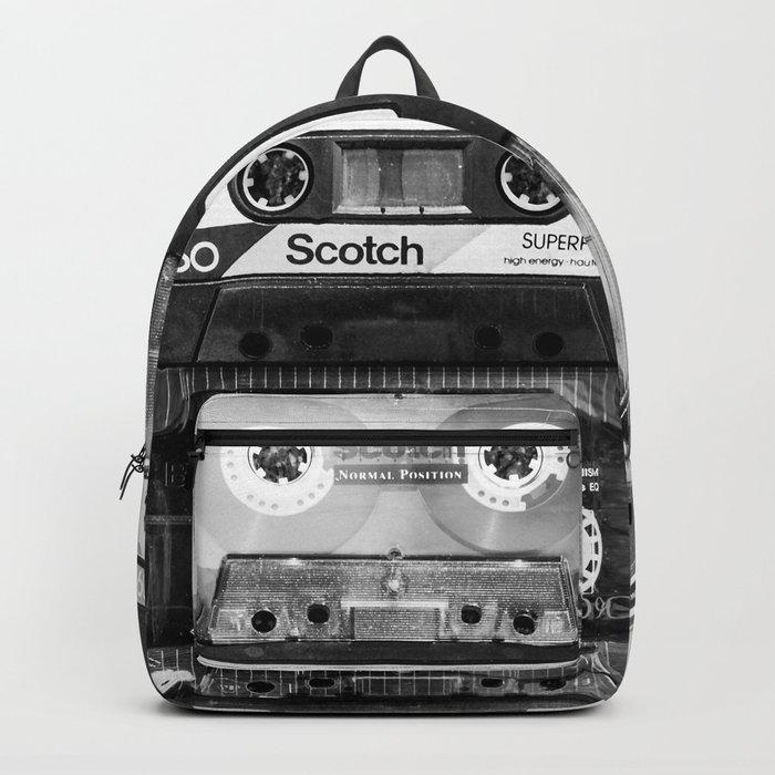 Something Nostalgic - black and white #decor #buyart #society6 Backpack