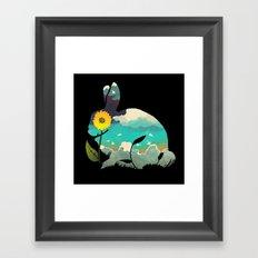 Rabbit Sky Framed Art Print